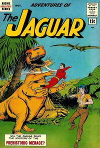 Cover Thumbnail for Adventures of the Jaguar (Archie, 1961 series) #10