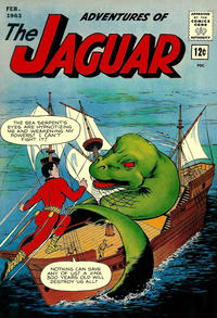 Cover Thumbnail for Adventures of the Jaguar (Archie, 1961 series) #11