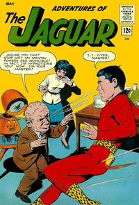 Cover Thumbnail for Adventures of the Jaguar (Archie, 1961 series) #12