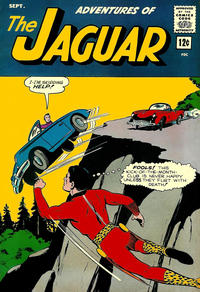 Cover for Adventures of the Jaguar (Archie, 1961 series) #14