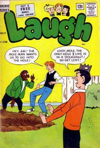 Cover Thumbnail for Laugh Comics (Archie, 1946 series) #136