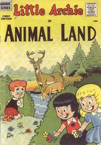 Cover for Little Archie in Animal Land (Archie, 1957 series) #1