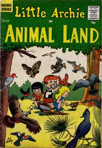 Cover Thumbnail for Little Archie in Animal Land (Archie, 1957 series) #17