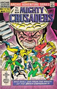 Cover Thumbnail for The Mighty Crusaders (Archie, 1983 series) #11