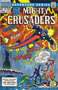 Cover Thumbnail for The Mighty Crusaders (Archie, 1983 series) #12