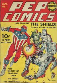 Cover Thumbnail for Pep Comics (Archie, 1940 series) #1