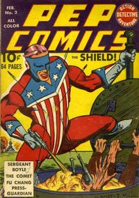 Cover Thumbnail for Pep Comics (Archie, 1940 series) #2
