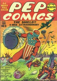 Cover Thumbnail for Pep Comics (Archie, 1940 series) #3