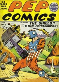 Cover Thumbnail for Pep Comics (Archie, 1940 series) #6