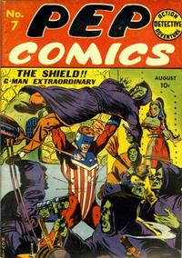 Cover Thumbnail for Pep Comics (Archie, 1940 series) #7