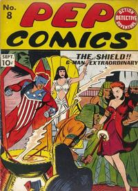 Cover Thumbnail for Pep Comics (Archie, 1940 series) #8