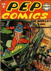 Cover Thumbnail for Pep Comics (Archie, 1940 series) #9