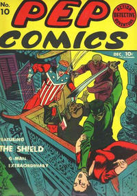 Cover Thumbnail for Pep Comics (Archie, 1940 series) #10