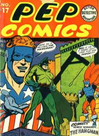 Cover Thumbnail for Pep Comics (Archie, 1940 series) #17