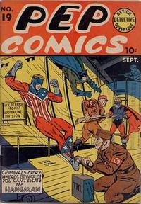 Cover Thumbnail for Pep Comics (Archie, 1940 series) #19