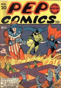 Cover Thumbnail for Pep Comics (Archie, 1940 series) #20