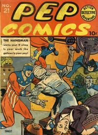 Cover Thumbnail for Pep Comics (Archie, 1940 series) #21