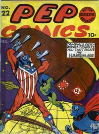 Cover Thumbnail for Pep Comics (Archie, 1940 series) #22