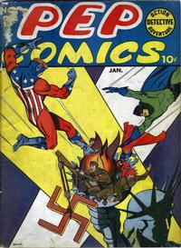 Cover for Pep Comics (Archie, 1940 series) #23