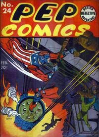 Cover Thumbnail for Pep Comics (Archie, 1940 series) #24