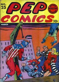 Cover Thumbnail for Pep Comics (Archie, 1940 series) #25