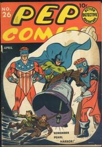 Cover Thumbnail for Pep Comics (Archie, 1940 series) #26