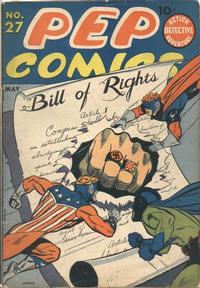 Cover Thumbnail for Pep Comics (Archie, 1940 series) #27