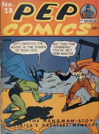 Cover Thumbnail for Pep Comics (Archie, 1940 series) #28
