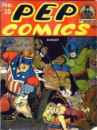Cover Thumbnail for Pep Comics (Archie, 1940 series) #30