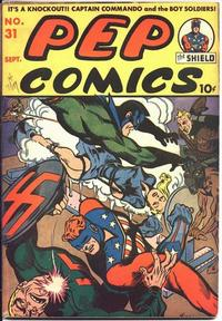 Cover Thumbnail for Pep Comics (Archie, 1940 series) #31