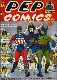 Cover Thumbnail for Pep Comics (Archie, 1940 series) #36