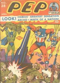 Cover Thumbnail for Pep Comics (Archie, 1940 series) #38