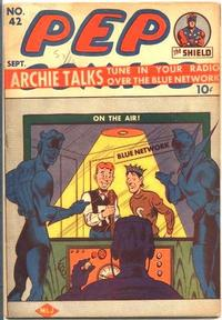 Cover Thumbnail for Pep Comics (Archie, 1940 series) #42