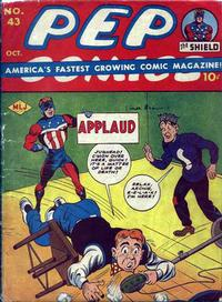 Cover for Pep Comics (Archie, 1940 series) #43