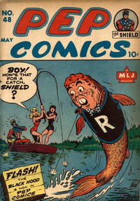 Cover Thumbnail for Pep Comics (Archie, 1940 series) #48