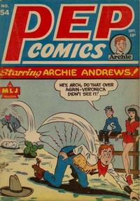 Cover Thumbnail for Pep Comics (Archie, 1940 series) #54