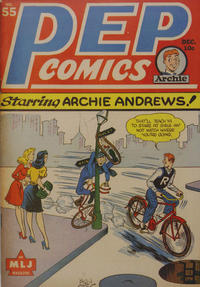 Cover Thumbnail for Pep Comics (Archie, 1940 series) #55