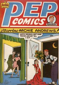 Cover Thumbnail for Pep Comics (Archie, 1940 series) #57