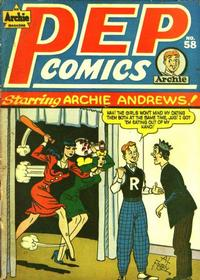 Cover Thumbnail for Pep Comics (Archie, 1940 series) #58