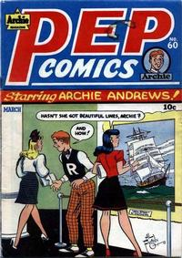 Cover Thumbnail for Pep Comics (Archie, 1940 series) #60