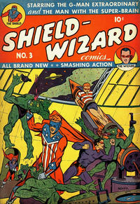 Cover Thumbnail for Shield-Wizard Comics (Archie, 1940 series) #3