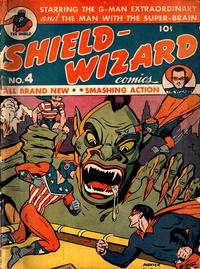Cover Thumbnail for Shield-Wizard Comics (Archie, 1940 series) #4