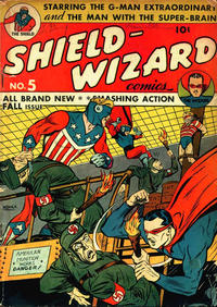 Cover Thumbnail for Shield-Wizard Comics (Archie, 1940 series) #5