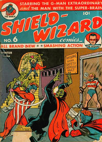 Cover Thumbnail for Shield-Wizard Comics (Archie, 1940 series) #6