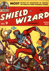 Cover Thumbnail for Shield-Wizard Comics (Archie, 1940 series) #9