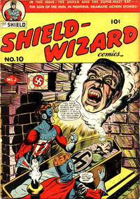 Cover Thumbnail for Shield-Wizard Comics (Archie, 1940 series) #10