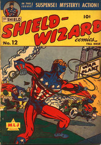Cover Thumbnail for Shield-Wizard Comics (Archie, 1940 series) #12