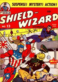Cover Thumbnail for Shield-Wizard Comics (Archie, 1940 series) #13