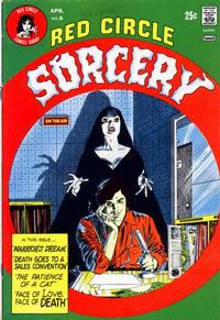 Cover Thumbnail for Red Circle Sorcery (Archie, 1974 series) #6