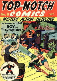 Cover Thumbnail for Top Notch Comics (Archie, 1939 series) #8